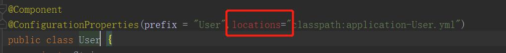 locations属性已被弃用