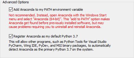把Anaconda加入PATH