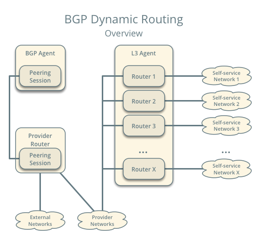 BGP dynamic routing overview