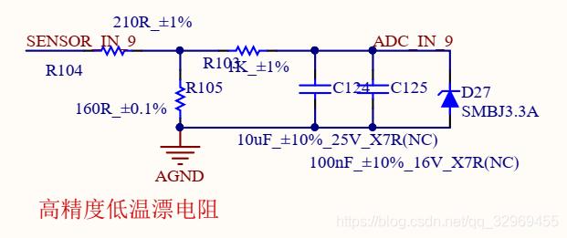 4-20ma传感器采样电路