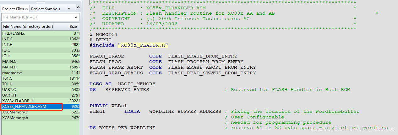 Flash读写函数