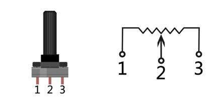 电位器原理图