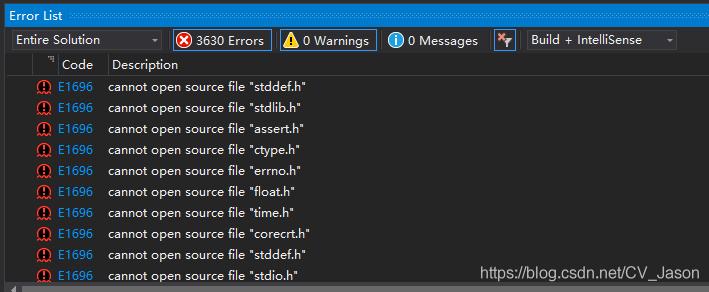 VisualStudio 2017:connot open source file XXX h 以及The Windows SDK