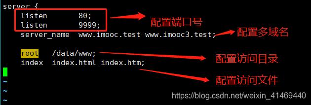 Nginx配置多域名、多端口