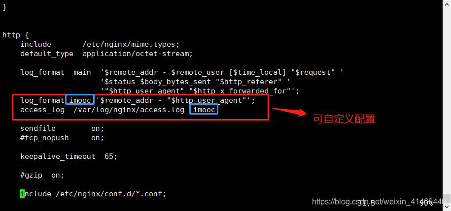 Nginx日志格式化配置