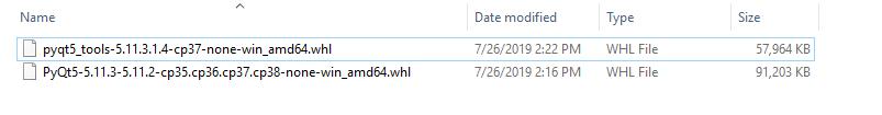 图2 直接下载的whl安装文件