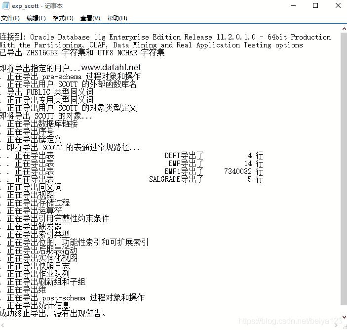 oracle数据库truncate table数据恢复案例