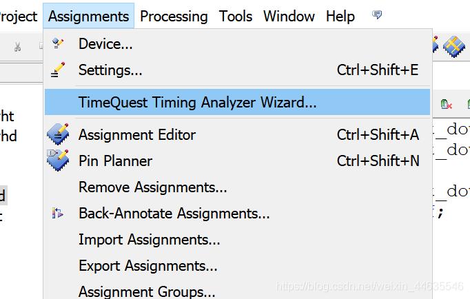 timing wiard tool