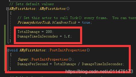 UE4从零开始003】公开C++中的属性到虚幻编辑器- 疯狂暴走哇的