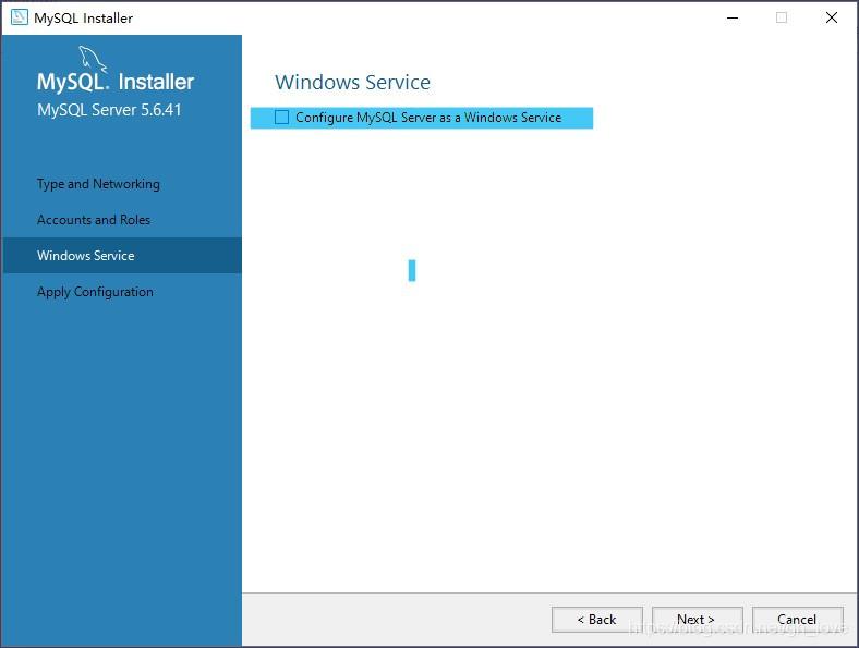 关闭mysql作为windows的服务和开机启动项