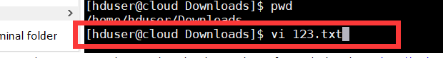 vi 文件名,显示文件内容