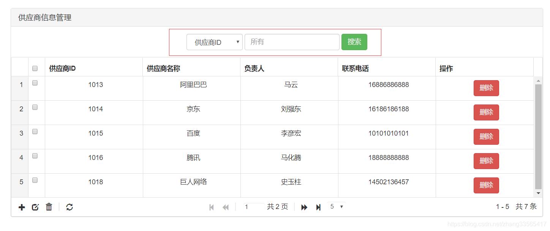 JqGrid自定义搜索,点击之后刷新了整个页面原因- zhang33565417