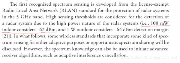 参考《TV White Space Spectrum Technologies: Regulations, Standards, and Applications》,第294页