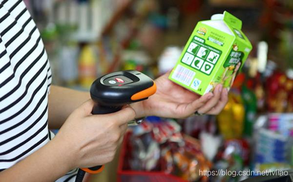 超市扫描商品