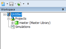 PSCAD中项目类型示意图