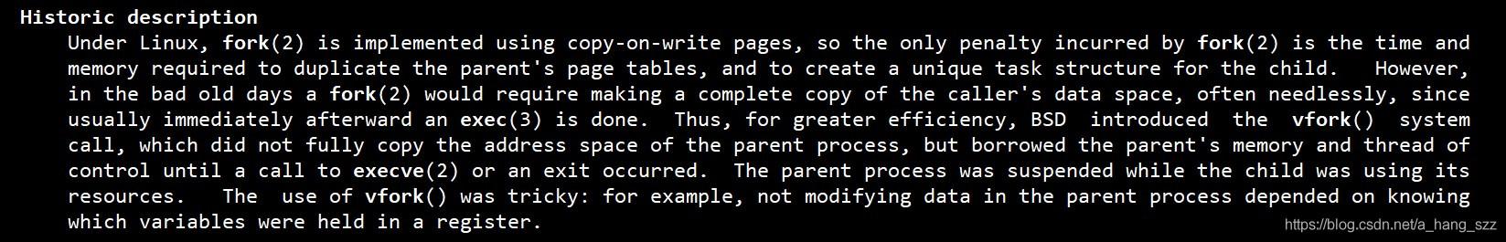 man文档描述