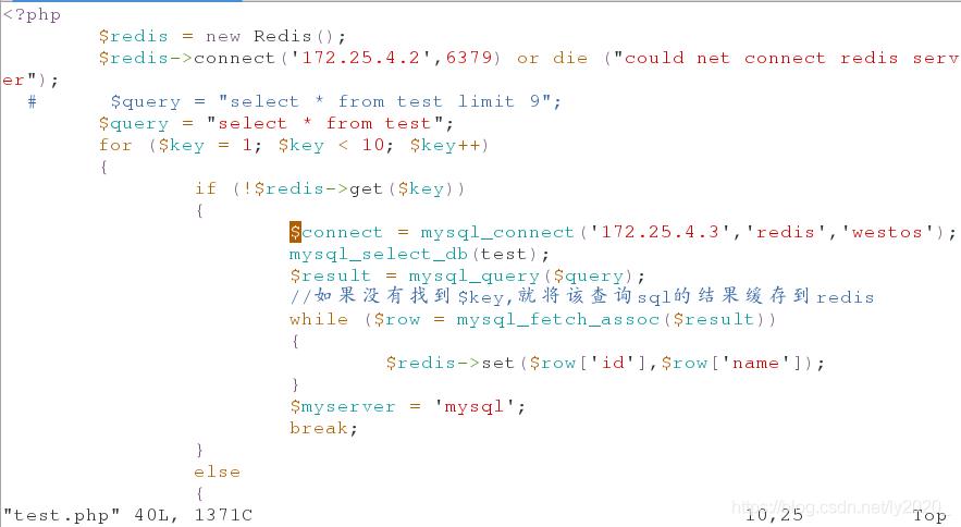 NoSQL 数据库redis(二)---Redis 作mysql 的缓存服务器- ly2020_