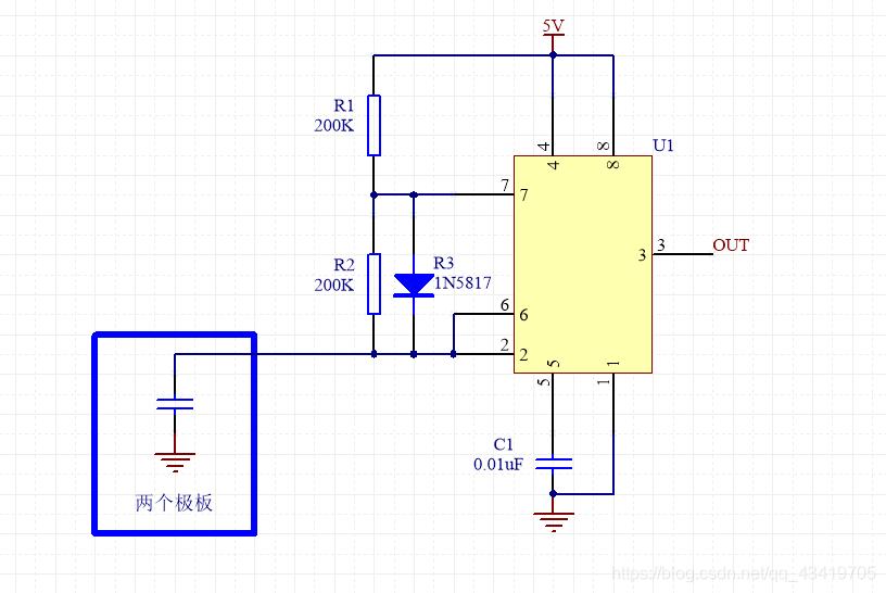 电容测试原理图