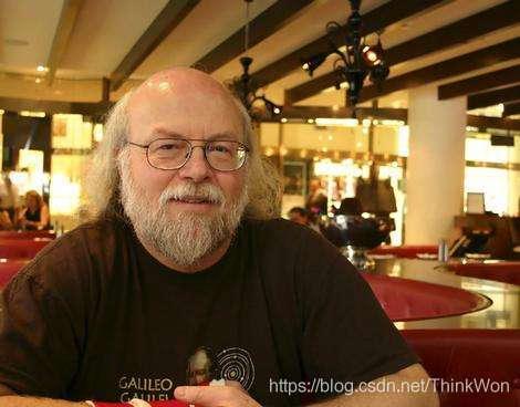 Java之父-詹姆斯·高斯林