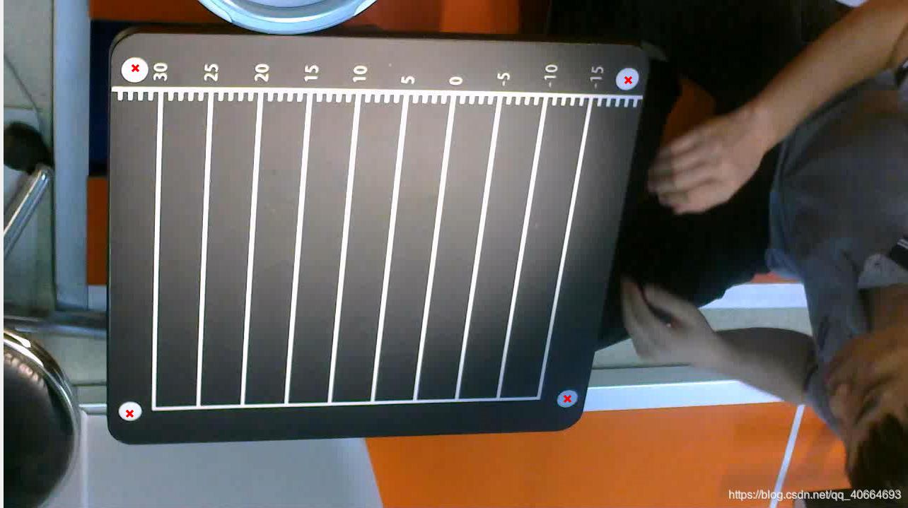 霍夫变换检测圆操作后并进行了圆心标记