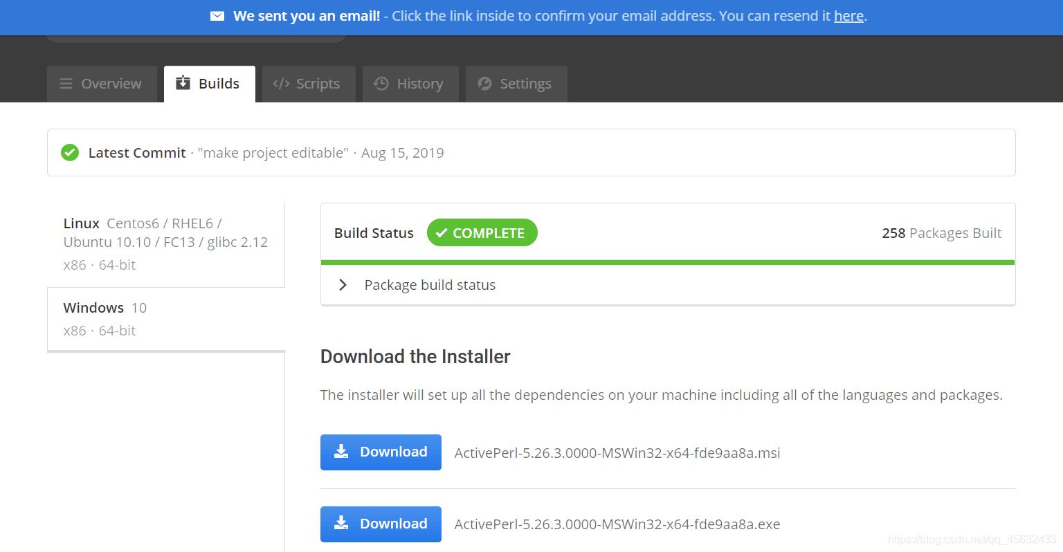 根据系统以及位数下载安装文件