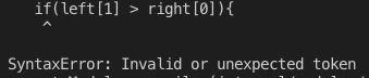 Uncaught SyntaxError: Invalid or unexpected token,