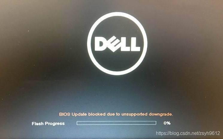 BIOS update blocked