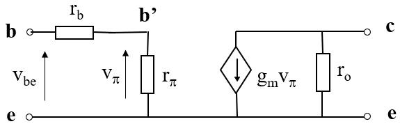 晶体管等效电路