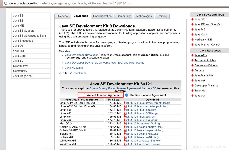 JDK下载