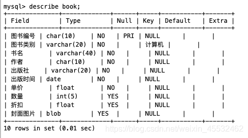 book表