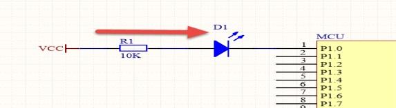 图5.不加下拉电阻