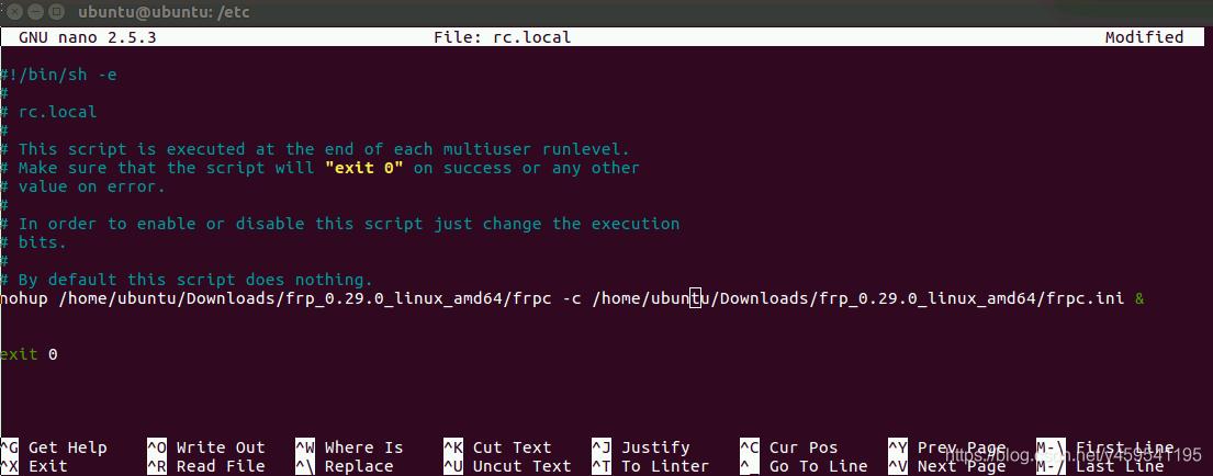 VNC+frp实现远程访问Ubuntu和树莓派(图14)