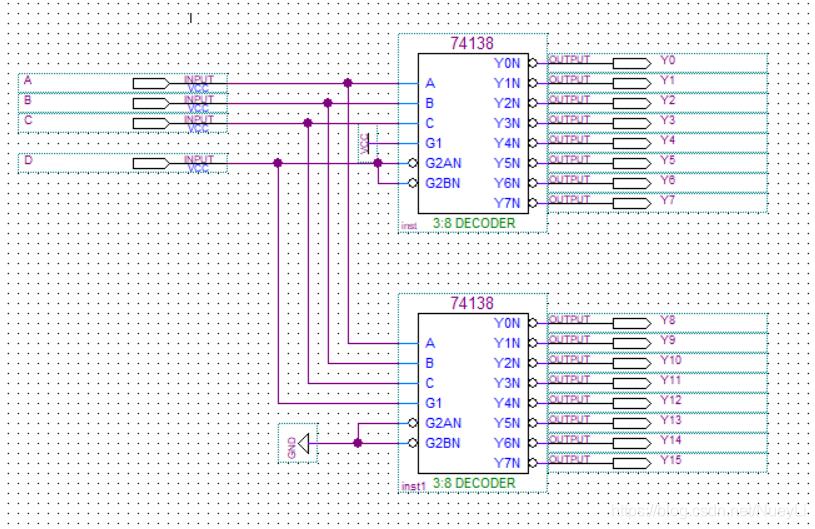 BDF文件中的电路搭建