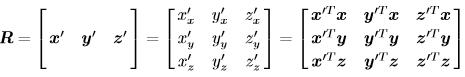 无人机运动学控制中的坐标系,及惯性坐标系与机体坐标系之间的矩阵转换 欧拉角插图(12)