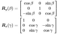 无人机运动学控制中的坐标系,及惯性坐标系与机体坐标系之间的矩阵转换 欧拉角插图(22)