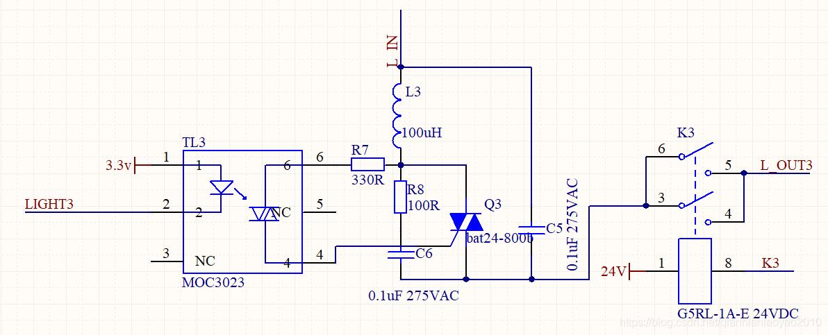 双向可控硅电路