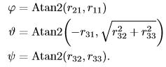 无人机运动学控制中的坐标系,及惯性坐标系与机体坐标系之间的矩阵转换 欧拉角插图(83)