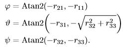 无人机运动学控制中的坐标系,及惯性坐标系与机体坐标系之间的矩阵转换 欧拉角插图(85)