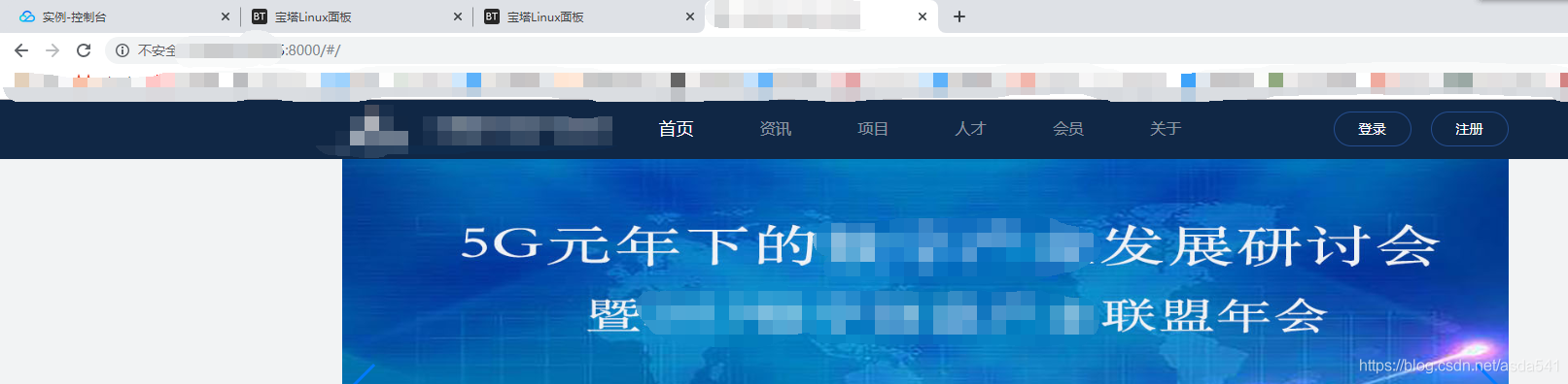 IP+端口访问