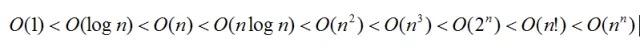 数学中量级比较