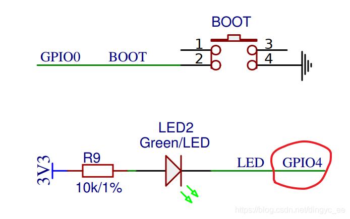 ESP8266 GPIO 输出输入