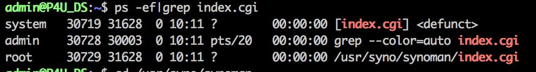 index.cgi 在不停地重启