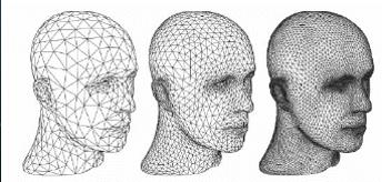 任何3D模型都是由若干三角形面片组成的