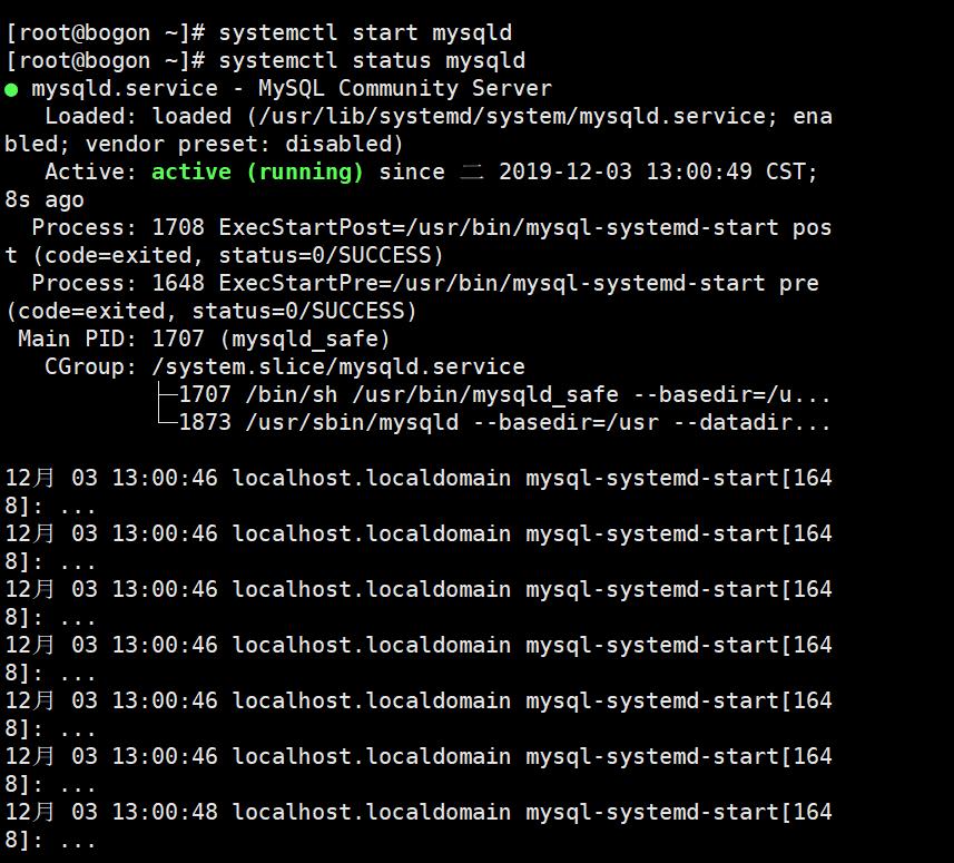 Linux---Mysql在线安装