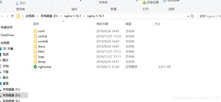 window版nginx