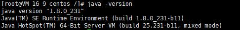 图 x 已安装1.8.0_231 jdk