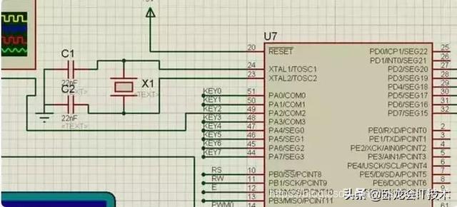 51单片机时钟电路图怎么设计?这7个时钟汇聚了所有,看看