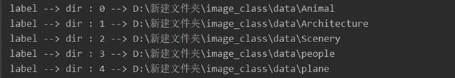 输出文件夹对应标签