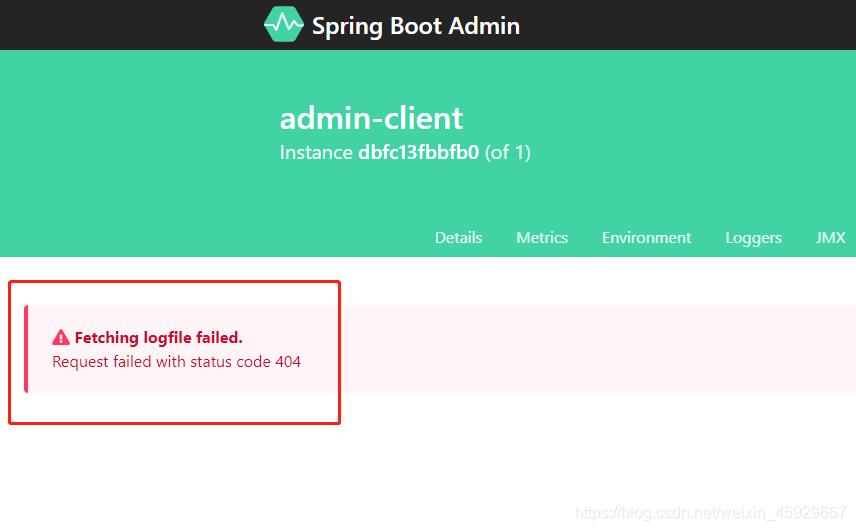 服务端未配置logging.file