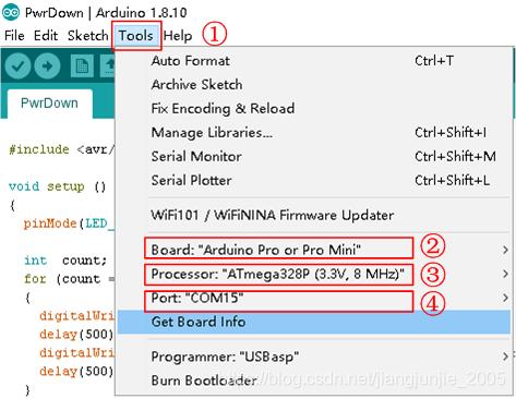 设置 Arduino IDE